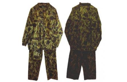 Voděodolný oblek CARINA nepromokavý, ARMY