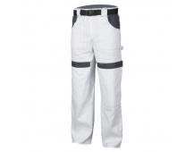 Pracovní kalhoty COOL TREND bílo-šedé