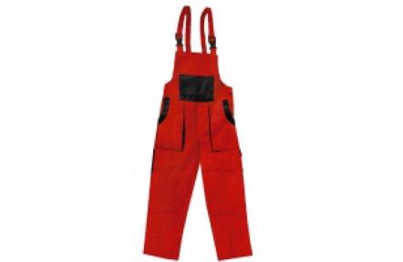 Pracovní kalhoty lacl LUXY ROBIN červeno-černé