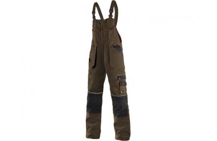 Pracovní kalhoty lacl ORION KRYŠTOF hnědé