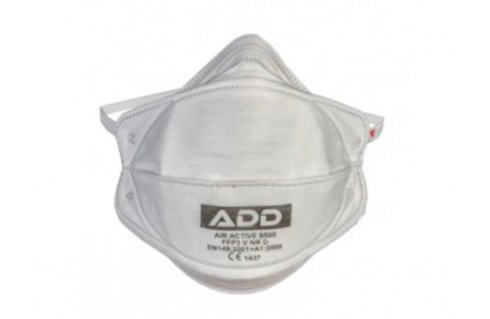 Respirátor FFP3 ADD AIR ACTIVE, bez ventilku