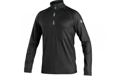 Mikina/tričko CXS Malone, černé, pánské