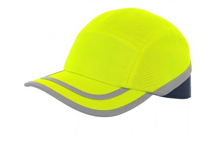Čepice s výztuhou CALLUM, žlutá