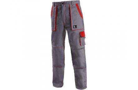 Pracovní kalhoty CXS LUXY Josef, šedo-červené