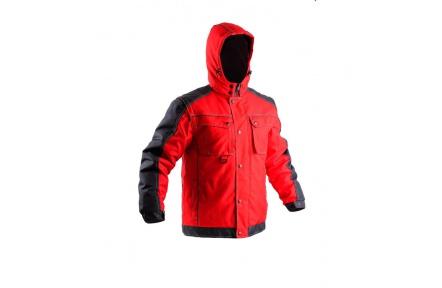 Pracovní zimní bunda IRVINE červená