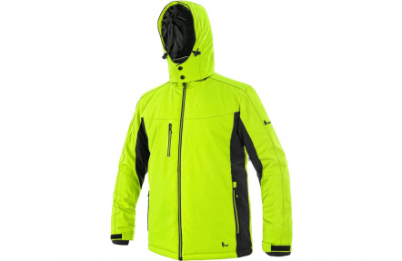 Zimní bunda VEGAS pánská, žlutá