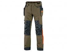 Kalhoty CXS NAOS, pánské, zeleno-zelené