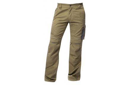 Letní kalhoty do pasu SUMMER, khaki