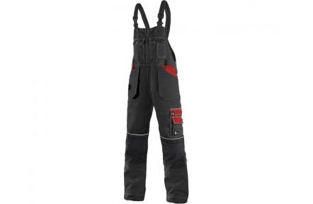 Pracovní kalhoty lacl ORION KRYŠTOF černo/červené