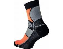 Ponožky KNOXFIELD Basic černo/oranžové