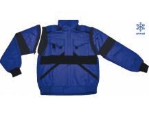 ZIMNÍ pracovní bunda LUX HUGO modrá