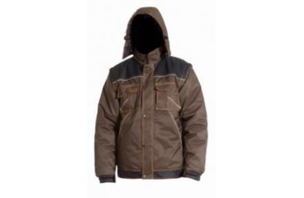 Pracovní zimní bunda IRVINE hnědá