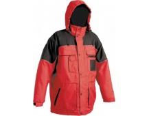 Pracovní zimní bunda ULTIMO červená