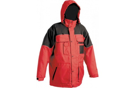 Pracovná zimná bunda ULTIMO červená - PRACOVNÉ ODEVY - WORKHOUSE.SK 5b832640620