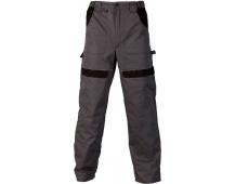 Pracovní kalhoty COOL TREND šedo-černé
