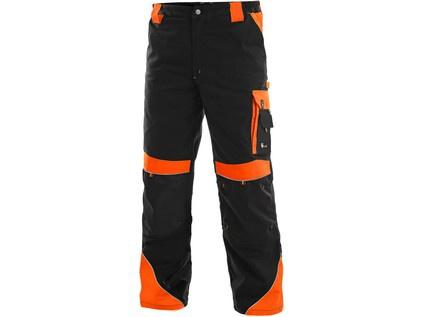 bbdaebbf2626 Pracovné nohavice SIRIUS Brighton čierno   oranžové - PRACOVNÉ ODEVY -  WORKHOUSE.SK