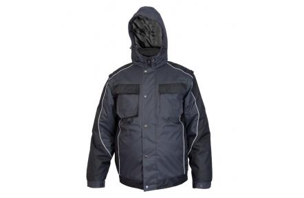 Pracovná zimná bunda IRVINE sivá - PRACOVNÉ ODEVY - WORKHOUSE.SK d5bb7f8f0b7