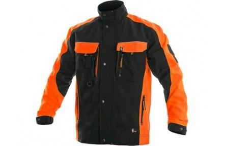 Pracovní blůza SIRIUS Brighton černo/oranžová