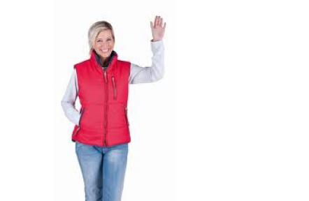 Dámská zimní vesta ROSEVILLE červená