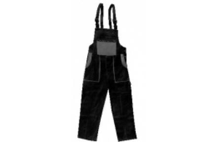 Pracovní kalhoty lacl LUXY ROBIN černo-šedé