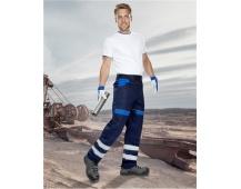 Pracovní kalhoty COOL TREND reflex - MODRÉ