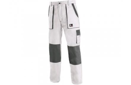 Pracovní kalhoty CXS LUXY Josef, bílo-šedé