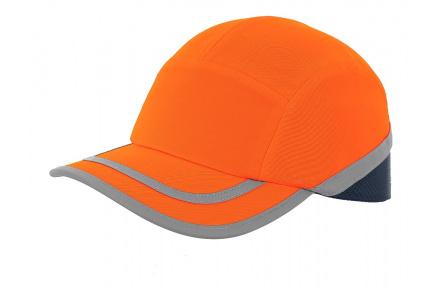 Čepice s výztuhou CALLUM, oranžová