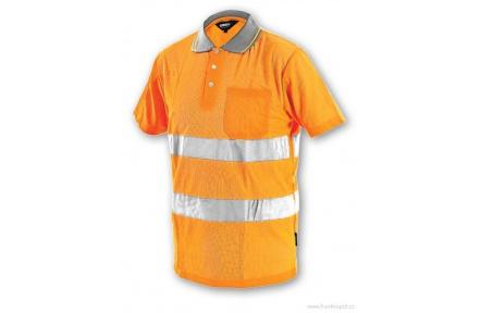 Reflexní polokošile DOVER oranžová