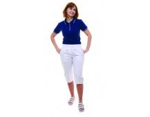 Kalhoty 3/4 dámské KARINA bílé