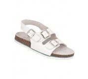 Dámské sandály bílé kožené ARDON Merkur